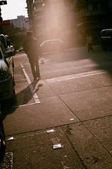 Walking Away (RollingLife~) Tags: street ltm pentax hong kong snaps konica rf hexar f19 43mm
