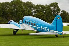 Avro Anson Nineteen - 1 (NickJ 1972) Tags: collection airshow pageant anson shuttleworth nineteen 2012 avro oldwarden gahkx