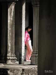 Contemplating Angkor Wat
