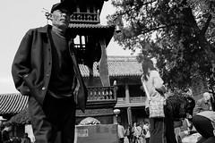 Prayer (cjacky2221) Tags: china blackandwhite bw buddhist religion chinese beijing streetphotography photojournalism buddhism   schwarzweiss  journalism  chinesepeople streetphotographer   religiousfreedom  schwarzweis        strasenfotografie   strasenfotos    pekingfotos