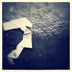 Shape (The Paul Miller) Tags: ocean africa sea reflection beach rain river concrete mar drops google construction sand industrial scaffolding decay 4 playa atlantic monsoon refraction nigeria poles equator iphone escravos iphonography snapseed