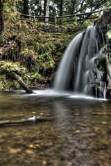 Blow Gill #2 (G&R) Tags: water waterfall long exposure yorkshire north fast blow moors gill hdr