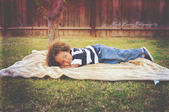 (Krista Cordova Photography) Tags: boy tree fall kids children brother sleepy lazy blanket greengrass cutekids hispanicchildren africanamericanchildren
