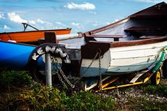 Kenny (garryknight) Tags: boat nikon isleofwight kenny skiff tyre lightroom rowingboat freshwaterbay 1855mmvr d5100