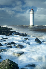 Perch Rock Lighthouse #1 (GOLDENORFE) Tags: lighthouse rock perch