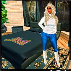 Clean bed linen (Myra's Journal by Myra Alberti) Tags: hot sexy fashion foxy avatar secondlife blonde femmefatale elegant cougar flirty milf maturewoman polished stylish ripe classy curvaceous dashing businesswoman cfnm uninhibited sexymilf primeoflife sexycougar myraalberti myrasgspot myrasjournal almostindominable alwaysalberti