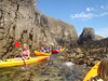 Low water kayaking of Sark