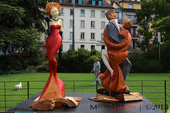 Montreux (Melvin Debono) Tags: montreux is municipality district rivierapaysdenhaut canton vaud switzerland it located lake geneva shoreline foot alps