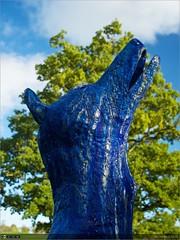Blue Moon XI (bbusschots) Tags: ireland sculpture art modernart maynooth kildare localhistory cartonestate