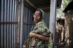 Joygum Begum is a graduate of BRAC Special Targeting Ultra Poor program. Joygum now works with BRAC engaging with people who are currently taking part in the 2 year long STUP program. Joygum has 3 children, she was just 13 when she was married to her husb