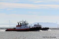 Valor and Patriot 2 (Walt Barnes) Tags: canon eos boat ship vessel richmond calif tugboat tug sanpablobay workboat 60d millerknox canoneos60d eos60d wdbones99