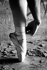(Deppy 7) Tags: blackandwhite ballerina