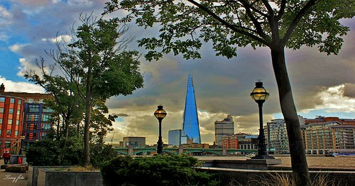 The Shard...Central London.