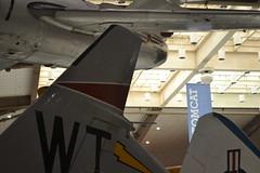 FJ-4_Tail_ThreeQuarters2 (AJ's Airplanes) Tags: fury nationalnavalaviationmuseum fj4