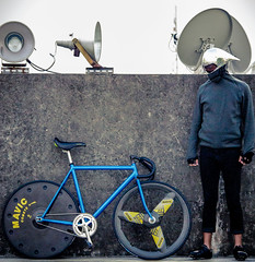 im Rocket Man / Taipe! (father TU) Tags: track fathertu fixedgear fixie mavic shimano zen rudyproject pista indurain trackbike bikeporn