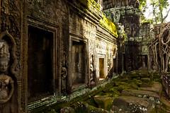 Ta Prohm (Justinsoul) Tags: voyage trip travel temple lumix asia cambodge cambodia khmer panasonic asie vat angkor taprohm indochine kampuchea lx7 justinsoul kampucha