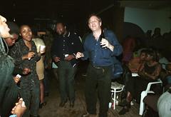 Afrigo Uganda Independence Celebration Kokonut Grove Hackney Wick London Oct 14 2000 042d MGS & Nokwanda (photographer695) Tags: 2000 grove 14 oct uganda independence kokonut afrigo
