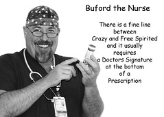 "283 of 365 Days "" Free Spirit "" (cptesco) Tags: crazy doctor nurse prescription buford freespirit"