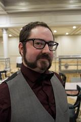 Hipster Me (I) (JF Sebastian) Tags: wedding portrait glasses funny bowtie suit thatsme dressed takenby cintruénigo jorgeferrergarcía morethan100visits morethan250visits morethan500visits fujifilmxe11855
