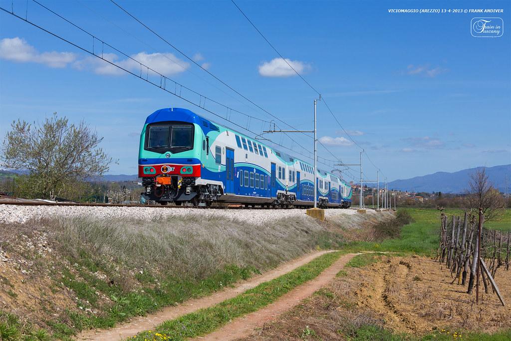 arezzo chiusi italy train - photo#43