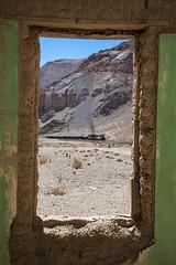Through a window (arcadia1969) Tags: chile trains ten railways ferronor portrorillos