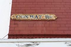 Conway Rd, Sparkbrook (BackofRackhams) Tags: street england signs streets birmingham unitedkingdom conway streetsigns streetname streetnames sparkbrook roadname nameplates b11 roadnames