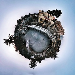 panorama india google tiny planet kolkata nexus... (Photo: Soumyadeep Paul on Flickr)
