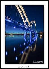Teeside Infinity Bridge (barnowls07) Tags: reflections river lights nikon ngc stocktonontees archbridge teeside rivertees infinitybridge neilbarkerphotography