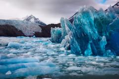 Glacier Grey (circleyq) Tags: chile blue mountain lake del landscape glacier torres paine