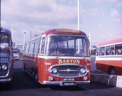 ARY693B (21c101) Tags: nottingham 1969 bedford m1 barton forte 1964 chilwell 1060 plaxton val14 ary693b