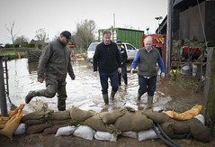 UK floods 2014 (The Prime Minister's Office) Tags: uk london pm primeminister downingstreet no10 davidcameron primeministerdavidcameron