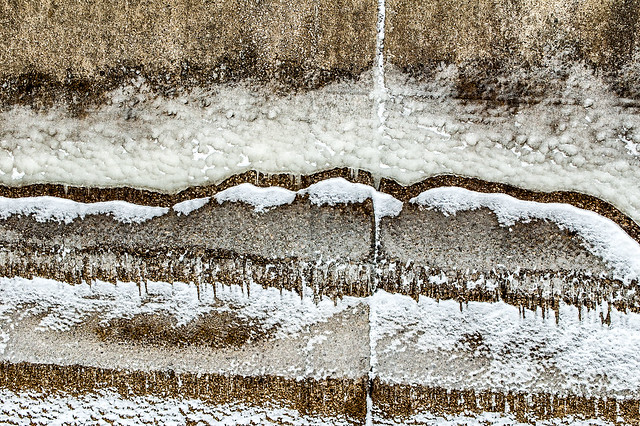 Lake Monroe Dam - February 15, 2014