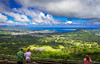 Nu'uanu Pali Lookout (julesnene) Tags: travel clouds island hawaii view wind oahu windy lookout tradewinds panoramicview windwardcoast canonefs1755mmf28isusmlens canoneos7d julesnene nu'uanupali juliasumangil nuʻuanuvalley windwardcliff