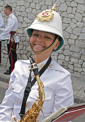 Guard Mount 020 - 1st Guard Mount (tony.evans) Tags: music drums sticks military pipes band trumpet marching gibraltar cymbals saxophone clarinet guardmount regiment corpsofdrums royalgibraltarregiment thebandoftheroyalgibraltarregiment marchingbandguardmount