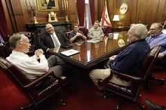 05-19-2014 FEMA Director Craig Fugate meets with Governor Bentley