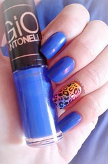 Frio na barriga - Hits (Galvess) Tags: blue azul print hits oncinha aniimal