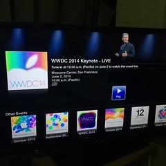 ดู #wwdc2014 จาก apple tv