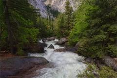 Merced River below Vernal Falls (Daniel Behm Photography) Tags: california park ca river nationalpark stream yosemite yosemitenationalpark mercedriver behm fastwater danielbehm