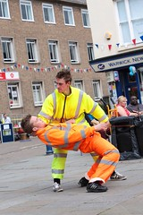 Dancing bin men! (Strobix Photography. Warwick UK) Tags: photography jane steve warwick strobix wwwstrobixphotographycouk