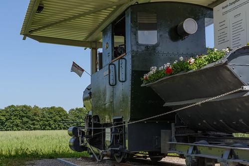 Feldbahnlok Auenstein, Aargau, CH