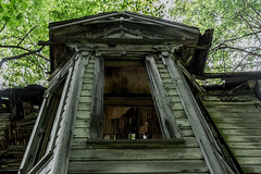 Abandoned House - Eastern Ohio (Chad Ellsworth Photography) Tags: from door old houses house building abandoned window forest buildings dead lost frozen stand still cool boards ancient woods fireplace photographer time awesome fear victorian places down haunted creepy spooky falling forgotten era slats ago cave years nightmare aged discarded caving paranormal dilapidated lived supernatural unlived