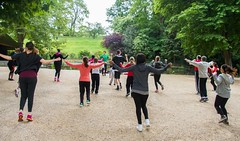 Androsmatin Bodycombat (groupe_andros) Tags: sport jus body combat parc matin vitalit androsmatin