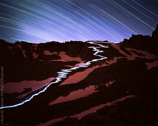 Stars and Stripes - 97 Switchbacks at Night