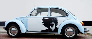 Bob Dylan on a beetle