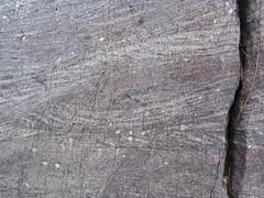 Cross-bedding in quartzite (Baraboo Quartzite, upper Paleoproterozoic, ~1.7 Ga; Tumbled Rocks Trail, Devil's Lake State Park, Wisconsin, USA) 11 (James St. John) Tags: park lake rocks cross state south devils trail ranges range quartzite stratified baraboo bedding precambrian stratification tumbled bedded paleoproterozoic proterozoic