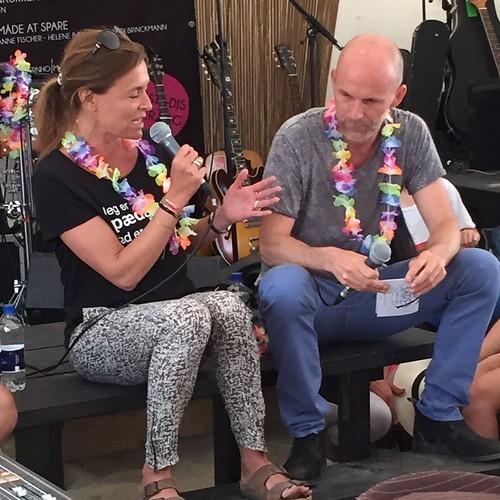 Trine Ankerstjerne and Niels Christian Bakholt debates