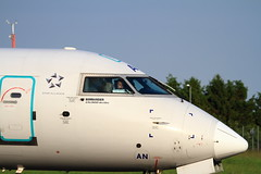 S5-AAN Nose (RJE Aviation Images) Tags: nose airport jet airways southend regional adria canadair crj900 s5aan