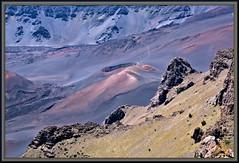 Ka lu'u o ka 'O'o cinder cone (WanaM3) Tags: wanam3 nikon hawaii maui haleakala houseofthesun crater volcano hiking cinder