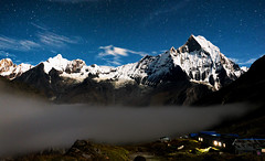 Nepal, Annapurna 2016 DSC05587 Date (Month DD, YYYY)-Edit.jpg (Rayne Chew) Tags: view massifs nature himalaya camp beauty 2016 base kampung annappurna nepal trekking ridge green remote peak mountains valley