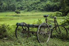 Parking at green park!! (direct_astro) Tags: green parking field color van nodriver lonely raozan chittagong bangladesh